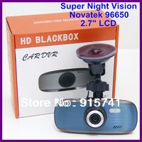 "Free Shipping!!Original Novatek NT96650 HD 1080P 30FPS G1W 2.7"" LCD Car DVR Camera Recorder G-sensor"