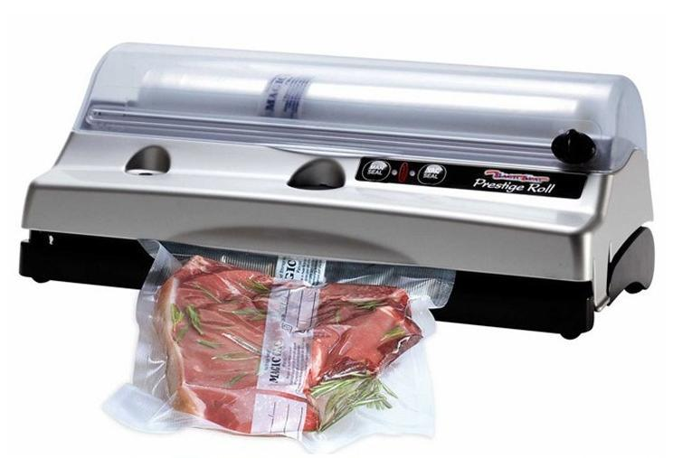 European Magic Vac Prestige Roll Household Food Vacuum Sealer,Automatic One Touch,Best Quality!(China (Mainland))