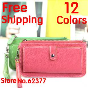NEW PU WOMEN WALLET  fashion  brand Envelope Clutch Chain Purse Lady Handbag Tote back to school  lady bag 12 colors WHOLESALE