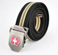 2014 men belt thicken canvas strong buckle military belt Army tactical belt top quality men strap 16 colors 140 cm free shipping