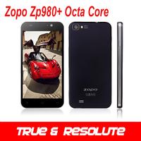 "Case as Gift 5.0"" Original Zopo Zp980+ Zopo Zp980 MTK6592 Octa Core Phone 2G RAM 16G ROM Dual Sim Dual Camera 14.0 MP Camera"