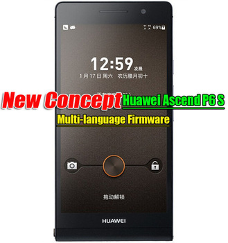 4.7 Incell Huawei P6S Huawei Ascend P6 S Super 6.48mm Android Phone Kirin 910 2G RAM 16G ROM  Multi-language Fast Shipping