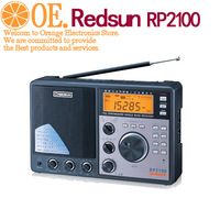 Fedex Free shipping REDSUN RP2100 PLL AM FM SW DUAL CONVERSION Digital RADIO STATION iREDSUN RP-2100 wholesale/Retail