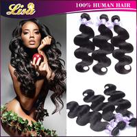 4pcs/lot Brazilian virgin hair Body wave Unprocessed human hair brazilian body wave Rosa hair products brazillian virgin hair