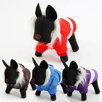 Dog Clothes Pet Apparel Puppy  Dog Clothing Pet Winter Warm Coat l Hoodie Size S/M/L/XL 4 Colors