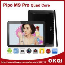Pipo M9 Pro 3G /M9 Quad Core GPS Tablet PC 10 inch Retina 2GB 32GB Android 4.2 Dual Camera Bluetooth Free Shipping(China (Mainland))