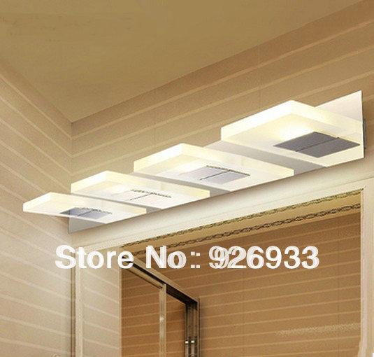 현대적인 미니멀 한 주도 방수 욕실 거울 등 허영 램프 ...