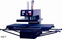 Heat Transfer/Press Machine, Bottom-glide Pneumatic Printer, L380*W380mm, Print T-shirt, Fabric, Glass, Metal,Ceramic,Wood,Video