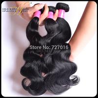 Brazilian Body Wave Remy Hair 5&4 pcs,Big Discount Wholesale Human Hair Weave,Natural Black 6A Brazillian Human Hair Extension
