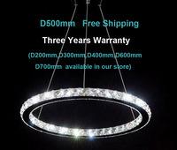 2013 New Design 50cm Raimond Round LED Crystal Chandelier Light Lamp Fixture+Free shipping