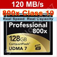 Brand Lexar 800x 128GB CompactFlash Memory Card 120MB/s High Speed 128 gb CF Card For DSLR Digital Camera HD 3D Video Camcorder