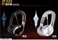 High quality Somic G945 with Falsh Gaming Headset  7.1 Surround Stereo Game Headphones with microphone  USB Computer Earphones