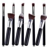 Drop Shipping 9pcs Premium Synthetic Kabuki Makeup Brush Set Professional Cosmetics Foundation blending brushes b8 SV00965 968
