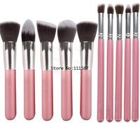 Low-cost Sales Makeup Tools 10pcs Portable Makeup Brush Set, Soft Synthetic Hair Makeup Brushes Professional #6 CB024312
