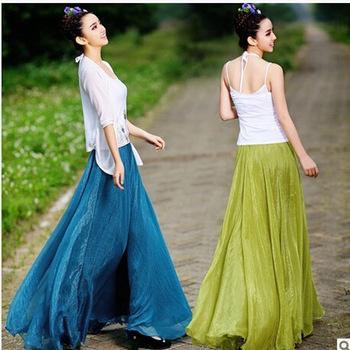 Горячая распродажа 2014 новинка чешские длина для женщин, Просто красивая юбка