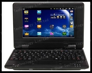 free  shipping airmail   VIA8850  android 4.0 7'' netbook flash player  dropshop welcomed