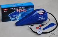 Multi-functional 12 V automobile cleaner, auto air pump 610,car vacuum cleaner,150 PSI, Car tyre tool,car air pump,1pc free ship