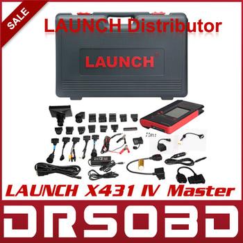 [LAUNCH DISTRIBUTOR] Global Version Launch X431 IV Master Version Free Update via internet 100% Original Auto Diagnostic tool