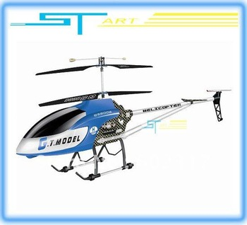 Update Version Biggest 134cm 3.5ch Gyro QS8006 rc helicopter 2 Speed Model W/ LED lights QS 8006 RTF Helicopter Supernova S 2014