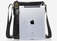 Wholesale&Retail Russia style' genuine leather men' shoulder bag,leather Ipad bag+Free Shipping