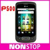 P500 Original LG P500 WIFI GPS JAVA Android OS 3.12MP Unlocked Mobile Phone