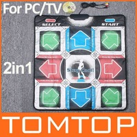New dance pad Non-Slip Dancing Step Dance Game Mat Pad for PC & TV free shipping dropshipping