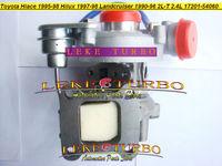 Wholesale CT20 17201-54060 17201-64030 Turbo Turbocharger TOYOTA Hilux Hiace HI-LUX HI-ACE Landcruiser Surf 4-Runner 2L-T 2.4L
