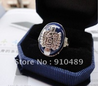 Vampire Diaries Silver Plated Damon salvatore Ring  Vampire Ring   Alloy fashion ring