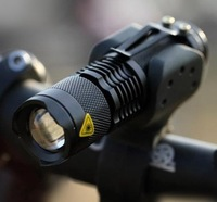 CREE Q5 LED Cycling Bike Bicycle Headlight Front Light MINI Torch with Mount