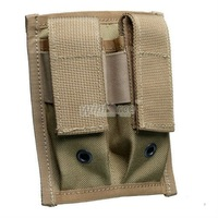 WINFORCE TACTICAL GEAR / Pistol Double 9mm Mag Pouch/ 100% CORDURA/ QUALITY GUARANTEED  MILITARY AND OUTDOOR AMMO POUCH