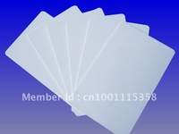 RFID UHF White Card, Read 15m EPC Gen2/ISO 18000-6C UHF PVC Tag for Windshield/VIP Card