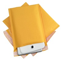"UPS Free shipping 500+50 #000 4x8 [102mm""x203mm""] KRAFT BUBBLE MAILERS PADDED MAILING ENVELOPE BAG SHIPPING SUPPLY"