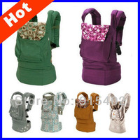 2013 Hot sale cotton baby carrier  top baby carrier sling baby suspenders classic baby backpack 10 color free shipping BD01