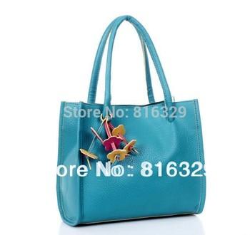 Free shipping wholesale  hot selling  kpop  new 2014 Women's and  Lady handbag,fashion Shopping bags