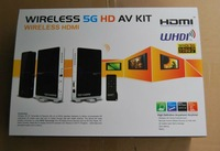 Fast Free shipping Wireless 5Ghz HDMI  1080P Full HD Wireless WHDI  TV PC  Audio&Video Transmitter and Receivers kit