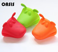 Recommendation Free Shipping 100% Silicone Doggy Shape Oven Gloves Cute Colored Pot Holder Oven Mitt Dishes $1.38/PCS(China (Mainland))
