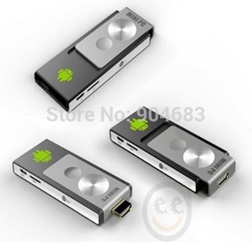 Android tv Box Stick Dual Core Mini PC Wifi Wi-Fi IPTV Smart TV PC Dongle Box wireless 4GB ROM MK802 freeshipping new(China (Mainland))