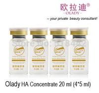 Free shipping Medical Grade Hyaluronic Acid Concentrate 20 ml (4 X 5 ml) moisturizing whitening  anti-aging, rejuvenation