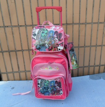 Hello KITTY Kids  trolley luggage+Lunch bag +Pencil Case children travel bags