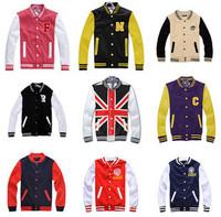 2013 hot Baseball sportswears Lovers letter lovers baseball uniform male women's sweatshirt outerwear Free Shipping