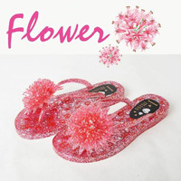 Jelly Shoes Women's Sandals 2014 Women Shoes Summer Sandals for Women Lady Slippers Women Beach Flip Flops Pink Free Shipping