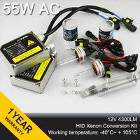 55W hid xenon kit Normal Ballast Blocks Xenon Bulb H1 H3 H8 H9 H10 H11 H4 H7 9004 9005 880 881 Car Headlight