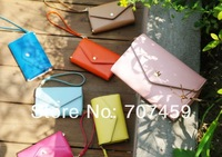 DHL Free Shipping!Hot sell 7 Color PU Leather Crown Smart Pouch/mobile phone case/mobile phone bag/card case/pu wallet