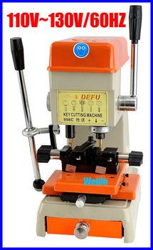 998C vertical key cutting machine.door and car lock key machine.factory lock machine.auto car key machine.