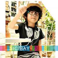 2013 New Microphone Style Summer Cotton Tshirt for Children Boys Girls Kids Tshirt Baby Tshirt,Hot Free Shipping Tops  K0122