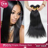 Virgin Unprocessed 6A Peruvian hair human hair weave Peruvian virgin hair straight Rosa hair products 3 pcs lot