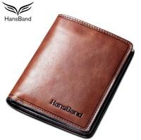 2 colors 3 sizes Genuine leather wallet men casual vintage fashion high quality brand purse TZ025