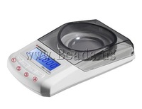 Free shipping!!!Digital Pocket Scale,Sexy Jewelry, ABS plastic, white, 130x70x30mm, Sold By PC