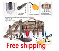 new 2013 Tibetan mastiff Multifunctional folding shovel for outdoor camping tool,camping/fishing/hunting/survival/car enthusiast