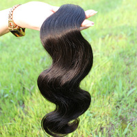 Sunny Queen Hair Products Unprocessed 6A Grade Brazilian Virgin Hair Body Wave 100% Human Hair Extensions 3pcs/lot Free Shipping